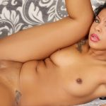 A Well Hung Guy Fucks Cute Black Babe Zoey Reyes and Jacks Off on Her Face